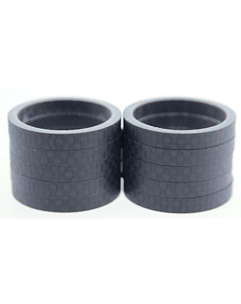 CARBON HEADSET SPACERS 5MM