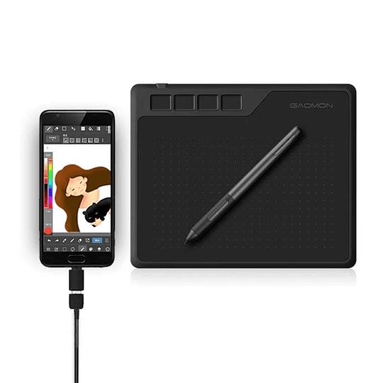 Tableta Gráfica Digitalizadora Gaomon S620 Android OSU