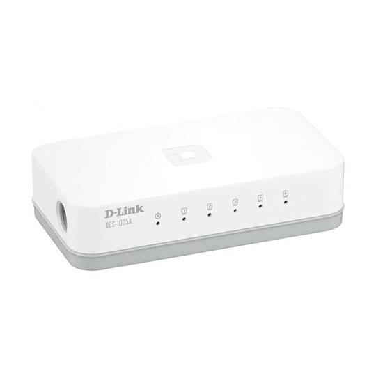 Switch No Administrable 5 P D-link Des-1005a