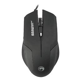Mouse Gamer Pro Marvo M205 Scorpion Negro 2400 Dpi