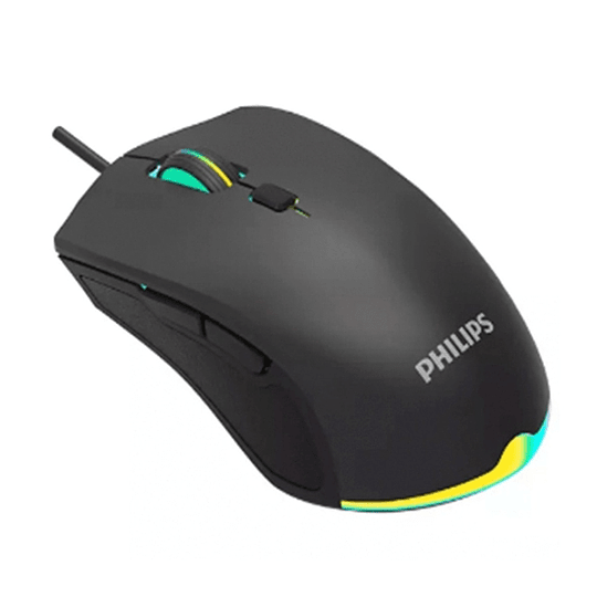 Mouse Gamer Philips G404 Momentum 2400dpi