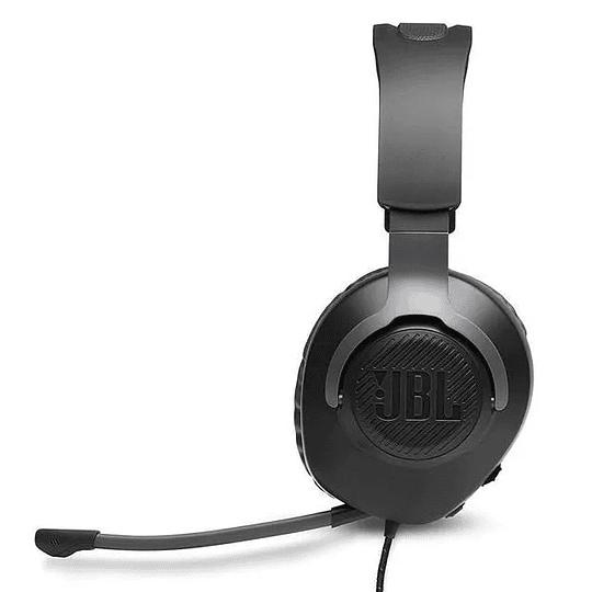 Audífonos Gamer Pro Jbl Quantum Q100 Negro Pc Ps4 Xbox