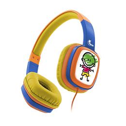 Audífono Para Niños Y Niñas Xtech Xth-350or Sound Art