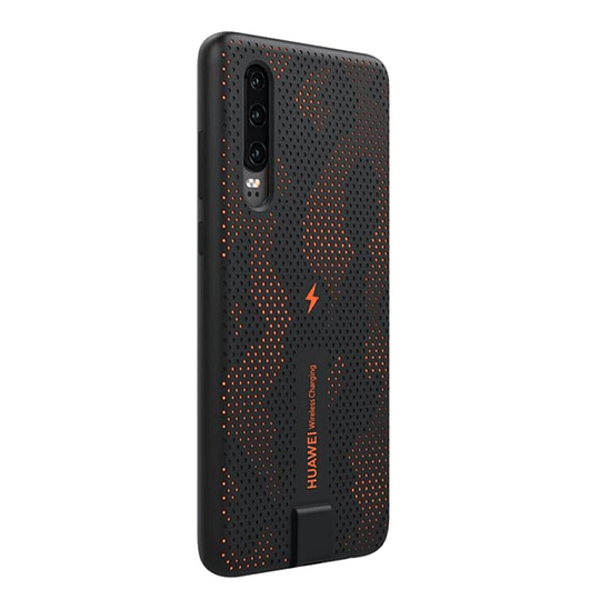Carcasa Huawei P30 Dynamic Wireless Charging Case Naranjo