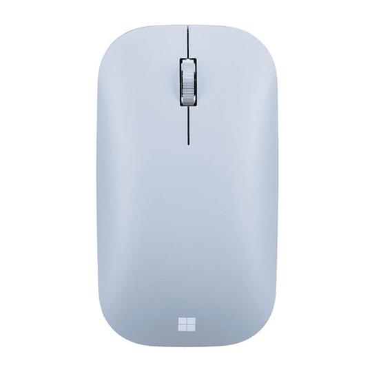 Mouse Microsoft Bluetooth Mordern Mobile Pastel Blue