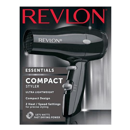Secador De Pelo Iónico Compacto Revlon Dr5260 1875w Negro