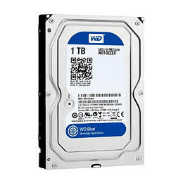 Disco Rigido Wd Blue Wd10ezex 1tb 3.5 7200rpm 64mb Sata3