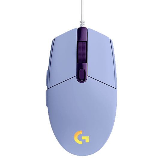 Mouse Gamer Logitech G203 New Rgb Lightsync Lila