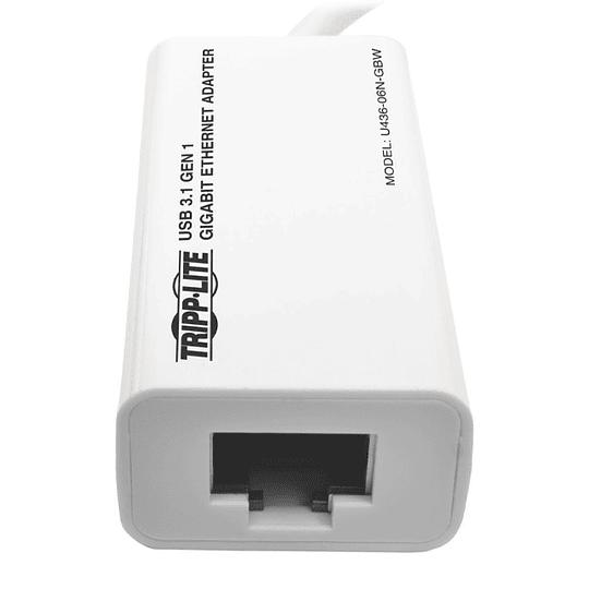 Adaptador Usb 3.1 Tipo C A Ethernet Tripplite Windows Mac