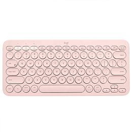 Teclado Inalámbrico Bluetooth Multidispositivo Logitech K380 Pink