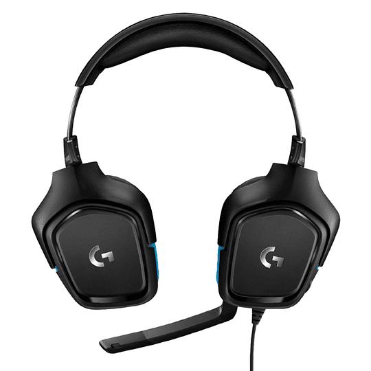 Audífonos Gamer Pro Logitech G432 Surround 7.1 Negro