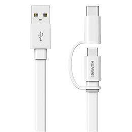 Cable De Datos Y Carga 2/1 Usb-c Y Micro Usb Huawei AP55s
