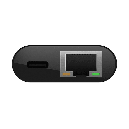 Adaptador Usb-c A Ethernet + Carga Thunderbolt 60w Belkin Mac