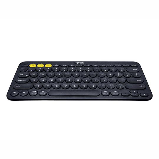 Teclado Inalámbrico Bluetooth Logitech K380 Black Multidevice