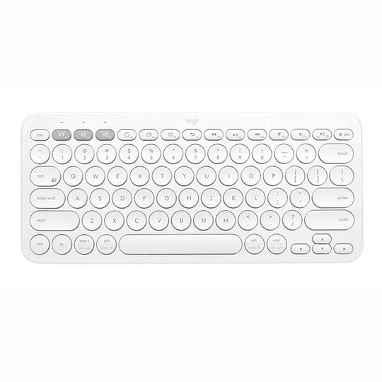 Teclado Inalámbrico Bluetooth Logitech K380 White Multidevice