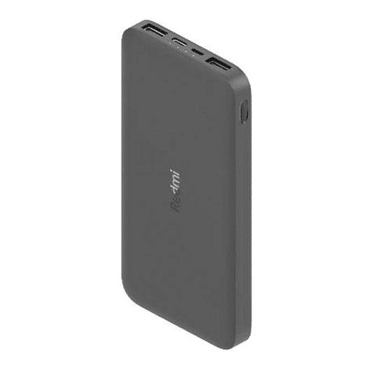 Power Bank Xiaomi Redmi 10000mah 2.4a Carga Rápida Negro