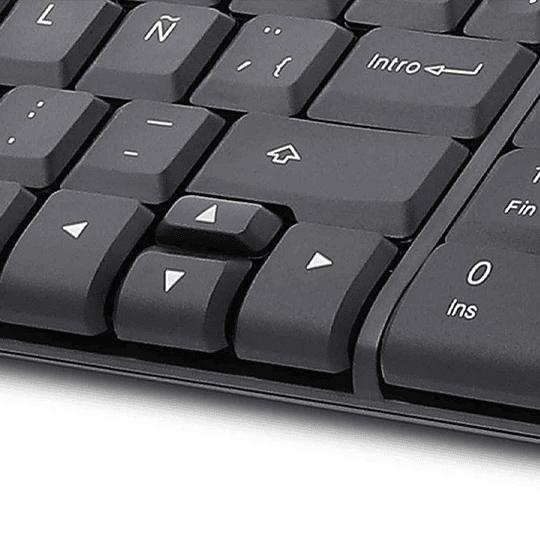 Xtech Kit Teclado+mouse Compacto Inalambrico Xtk-310s