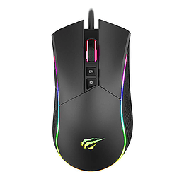 Mouse Gamer Pro Rgb Gamenote Ms1001 4800dpi 7 Botones