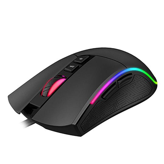 Mouse Gamer Pro Rgb Gamenote Ms1001 4800dpi 7 Botones