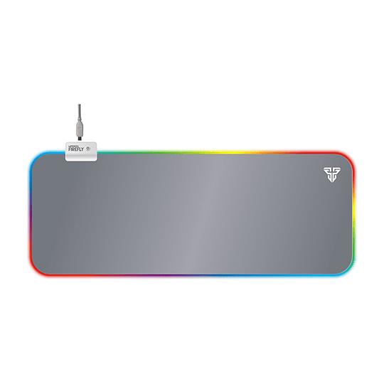 Mousepad Gamer Pro Led Rgb Fantech Mpr800s Firefly 80x30 Xl Space Edition