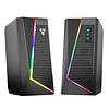 Parlantes Gamer Rgb Bluetooth Usb Dual Fantech Gs 204 6w