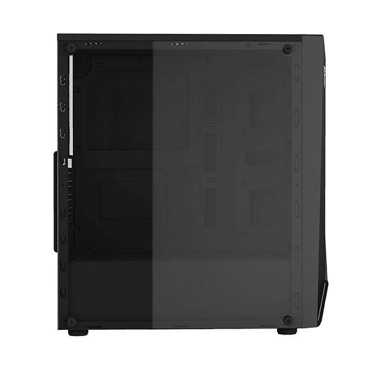 Gabinete Gamer Fantech Cg71 Pulse Rgb Middle Tower Black