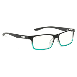 Lentes Gamer Pro Luz Azul Uv Gunnar Cruz Onyx Teal Clear