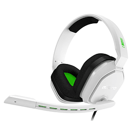 Audifonos Gamer Logitech A10 Astro Blanco Verde Xbox Ps4 Pc