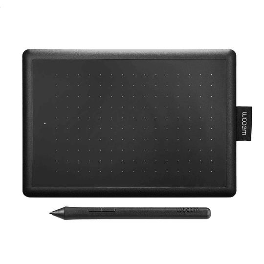 Tableta grafica One By Wacom Small K1a Black Red