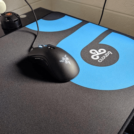 Mousepad Gamer Pro Logitech G640 Cloud9 Edition