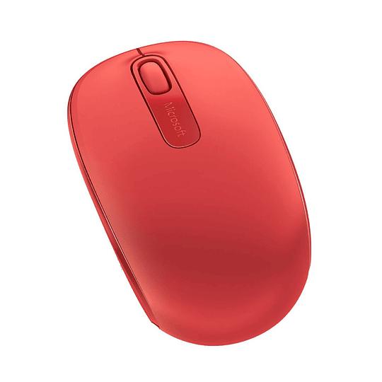 Mouse Inalámbrico Microsoft Mobile 1850 Rojo