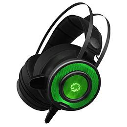 Audífonos Gamer Pro Gamemax G200 Led 7 Colores Pc Ps4 Xbox