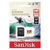 Memoria Micro Sd Sandisk Extreme 64gb 4k 160mb/s Dron GoPro