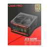 Fuente De Poder Game Pro Atx-500w Certificada 80 + Bronze