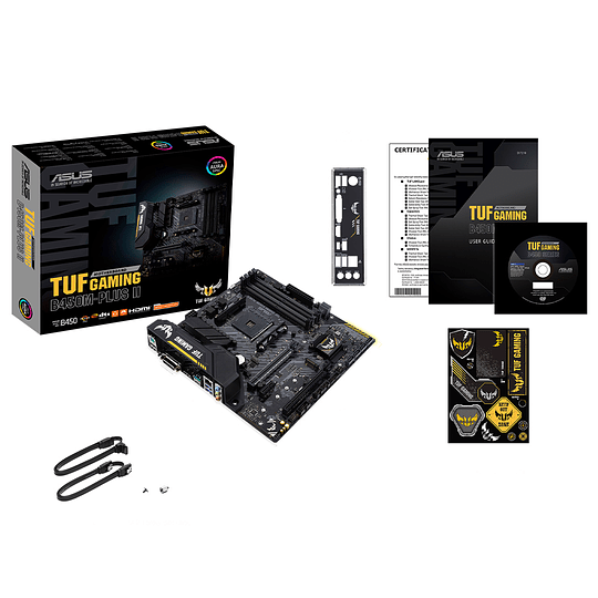Placa Madre Asus Tuf Gaming B450m Plus 2 Ryzen M.2 Usb 3.2
