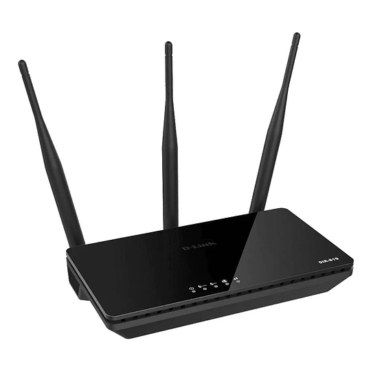 Router Dual Band 5ghz D-link Ac750 Dir-819 Negro