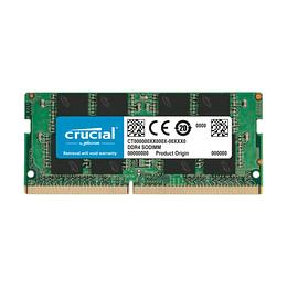 Memoria RAM 8GB 1x8GB Crucial DDR4 2666 SODIMM CT8G4SFS8266