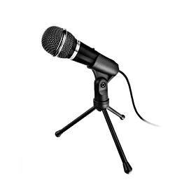 Microfono Trust Starzz All Round Pc Laptop Con Tripode 2.5m