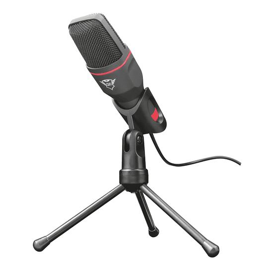 Micrófono Condensador Omnidireccional Trust Gxt 212  Negro