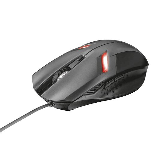 Mouse Gamer Trust Ziva 21512 2000dpi 6 botones
