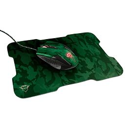 Kit Gamer Mouse + Mouse Pad  trust Gxt 781 Rixa 6 botones