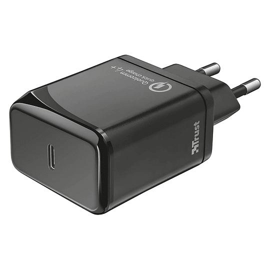Cargador USB-C PD3.0 18w Trust Velox18 23140 Android Iphone