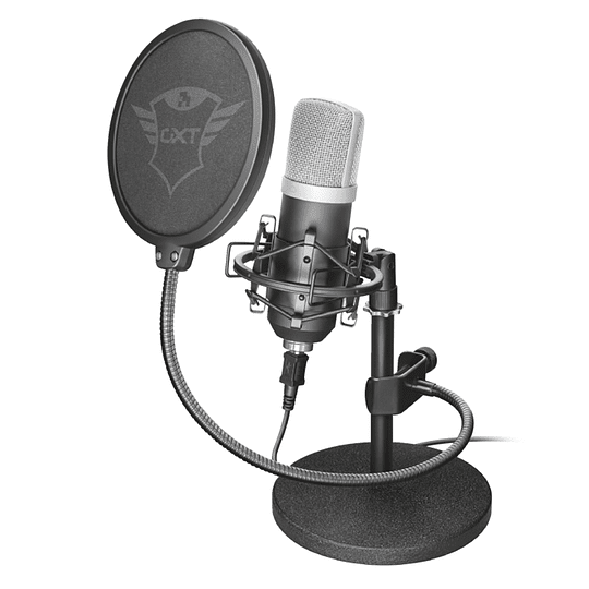 Micrófono Streaming Usb Con Case Trust Emita Gxt 252 21753