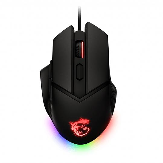 Mouse Gamer Pro Msi Clutch Gm20 Elite 6400dpi 6 Botones