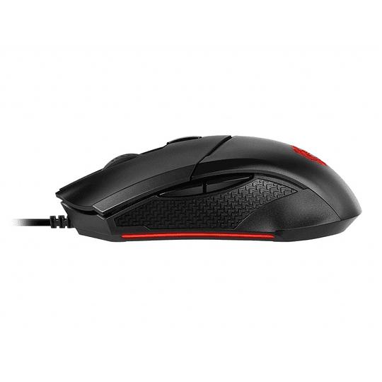 Mouse Gamer Pro Msi Clutch Gm08 3200Dpi 6 Botones