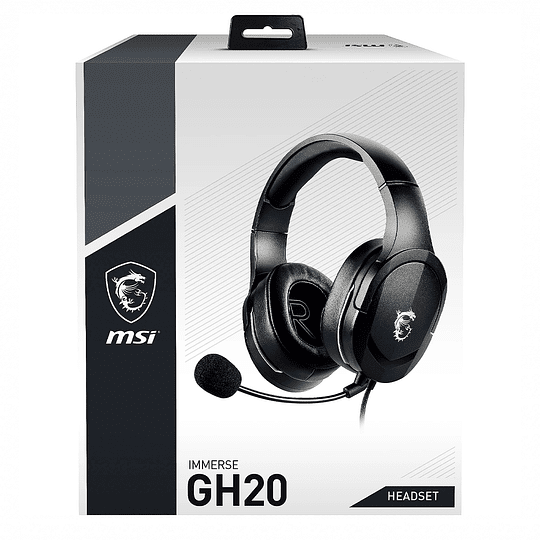 Audifonos Gamer Pro Msi Immerse Gh20 Pc Mac Switch Ps4 Xbox
