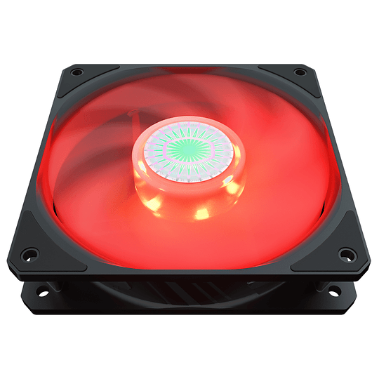 Ventilador Coolermaster Sickleflow 120 Red