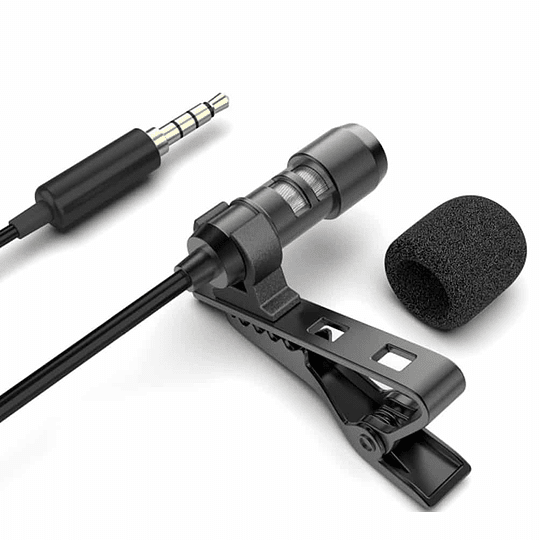 Microfono Profesional De Solapa Fifine C2 Negro