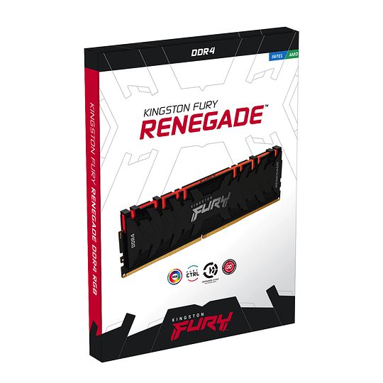 Memoria Ram Gamer HyperX Fury Renegade 8Gb RGB 3600mhz