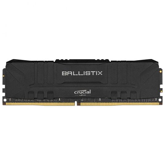 Memoria Ram Gamer Crucial Ballistix 8gb 3200mhz Ddr4 Negra